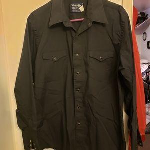 Wrangler Mens Dress Shirt XL